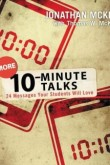 More 10-Minute Talks